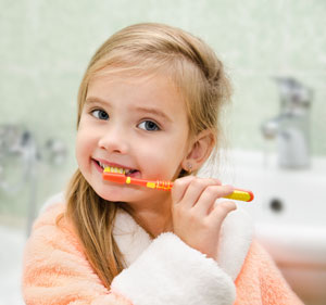 Brushing Teeth - Pediatric Dentist in Plainfield, IL