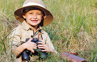 Child on Safari - Pediatric Dentist in Plainfield, IL